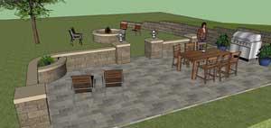 Allan Block 3D Modeling Tool