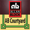 Allan Block Courtyard Wall App