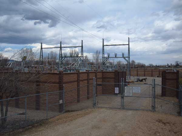 Meadow Substation Security Fence Project