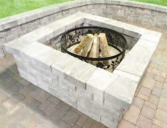 Concrete patio with square fire pit Square Fit Stamped Concrete Patio With Square Fire Pit Concrete Patio With Square Fire Pit Incredible Design Gerdanco Stamped Concrete Patio With Square Fire Pit Concrete Patio With