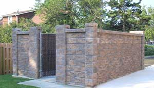 Best option for blocking oet under fence