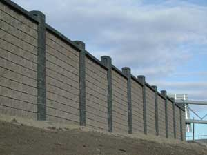 Concrete Block Fence Fence Design