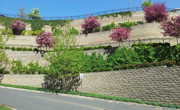 Image Result For Build Terraced Retaining Wall
