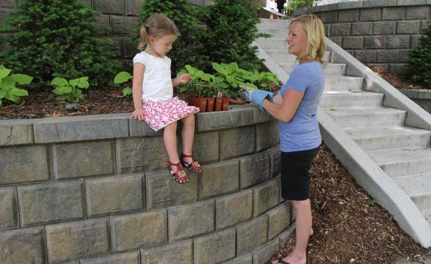 eco-friendly retaining wall