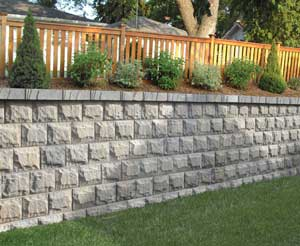 AB Fieldstone Retaining wall