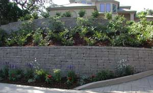 Retaining Wall Terrace - AB Europa Collection