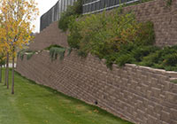 Allan Block Retaining Wall Photo