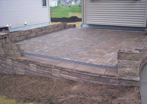 Perfect Choose A Flooring Option Like Concrete, Pavers, Brick Or Natural Stones To  Fit The Design And Style Of Your Landscape