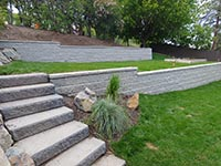 Allan Block Retaining Wall Photo