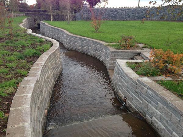 Water Retaining Walls : Retaining water festival gay