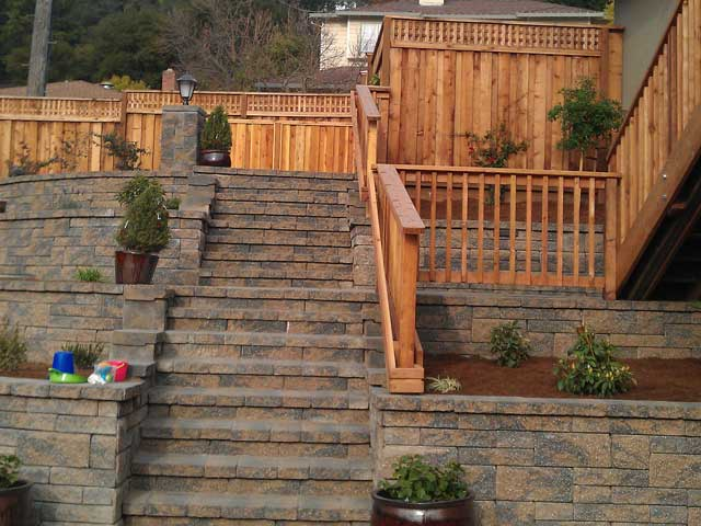 Backyard Slope Turned Into Usable Space