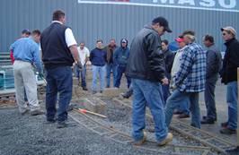 Allan Block Contractor Certification training - hands on
