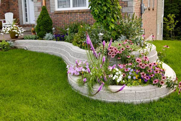Front Flower Bed Ideas Curb Appeal Shrubs