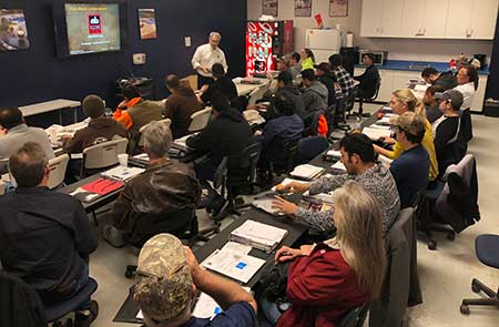 Contractor Classroom Training