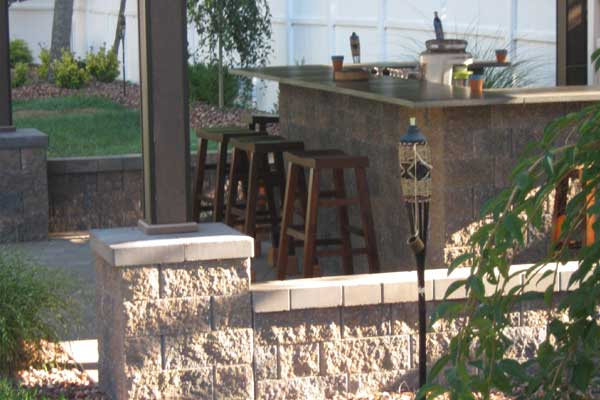 Patio Surround And Bar