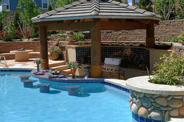 Retaining Wall Terraces Build Backyard Vacation Spot