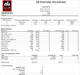 Estimating Tool Result Example