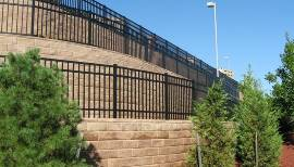 Fence Ontop of Wall