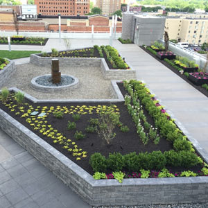 rooftop planter
