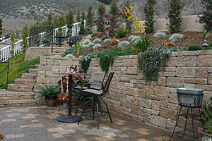 ... AB Europa Abbey Blend Patterned Retaining Wall ...