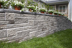 Marvelous AB Collection Patterned Retaining Wall ...