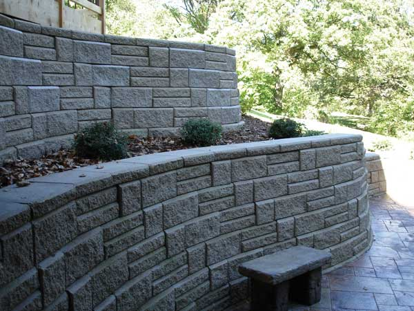 Retaining Wall Terraces