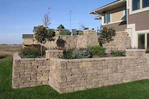 Retaining Walls With Corners
