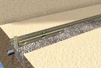 Retaining wall base installation