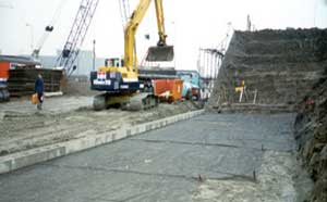 Backfilling with Geogrid