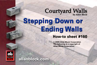 Stepping Down or Ending Walls