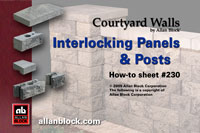 Interlocking Walls and Posts