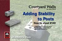 Adding Strength to Posts/Pillars