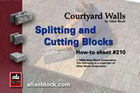 Cutting or Splitting Blocks