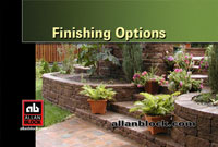 Finishing Options for Retaining Walls